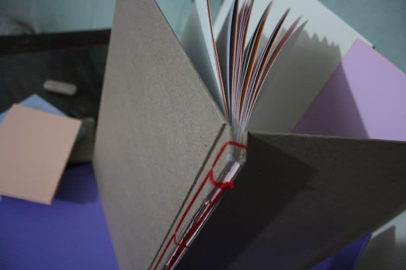 Libretas, color y algo mas. Mi Proyecto del curso: Técnicas de Encuadernación DIY 0