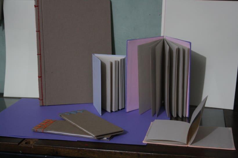 Libretas, color y algo mas. Mi Proyecto del curso: Técnicas de Encuadernación DIY 2