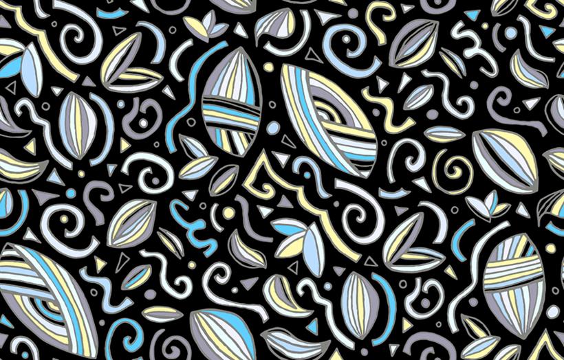 """""""No se dibujar pero no importa!"""": Diseño de estampados textiles 4"""