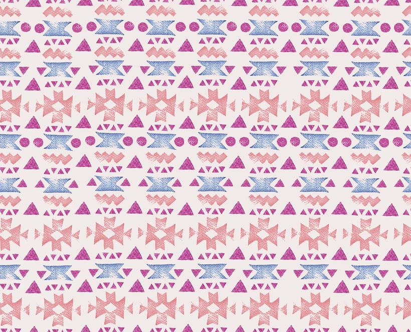 Mi Proyecto del curso: Diseño de estampados textiles -1