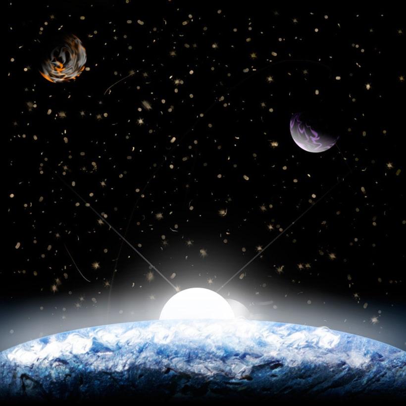 """Ilustración """"Planetas"""" 0"""