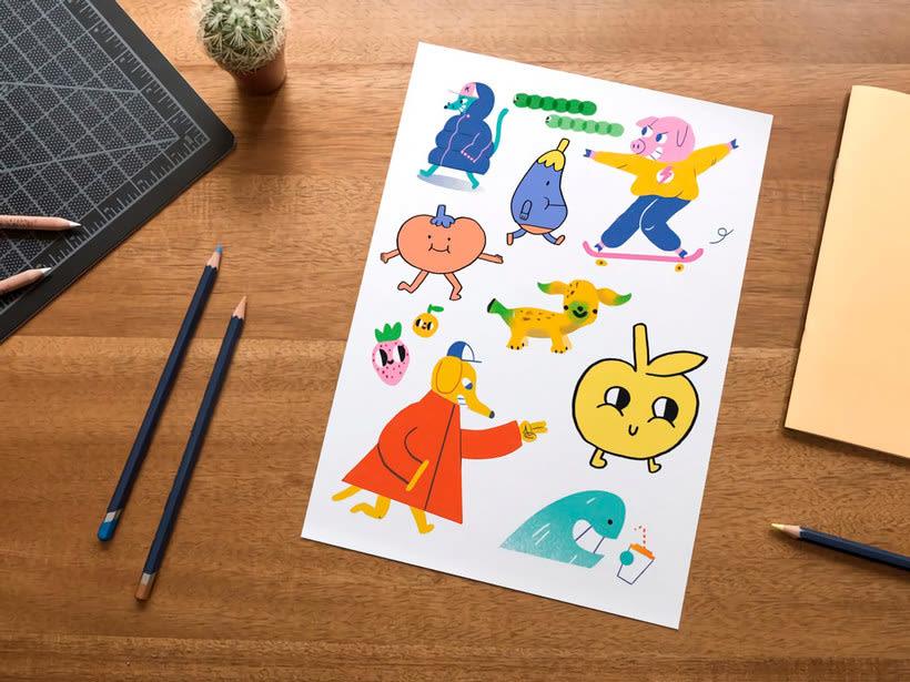 Kiwi, una revista que acerca la ilustración a los niños 6