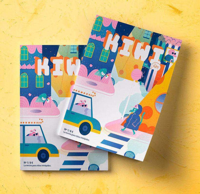 Kiwi, una revista que acerca la ilustración a los niños 5