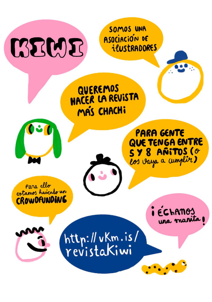 Kiwi, una revista que acerca la ilustración a los niños 12