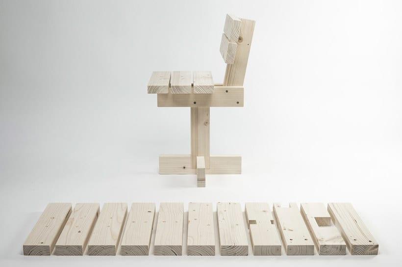 Hamaika: una silla DIY para todos los públicos 9