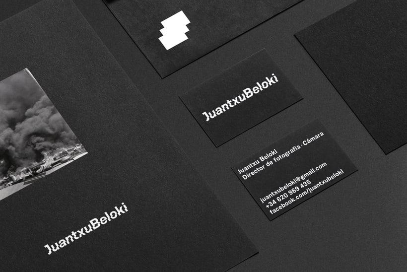 Juantxu Beloki visual identity 2