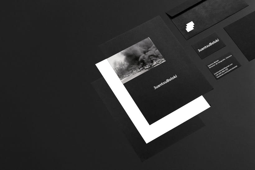 Juantxu Beloki visual identity 3