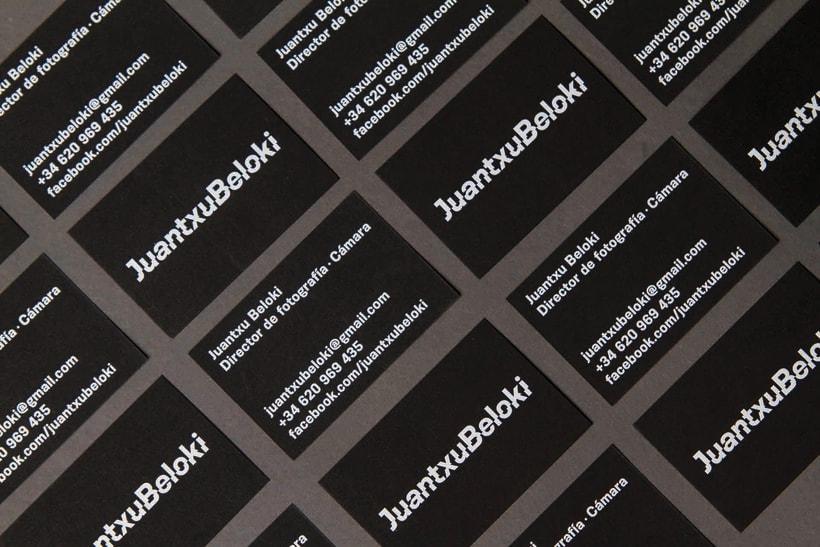Juantxu Beloki visual identity 4