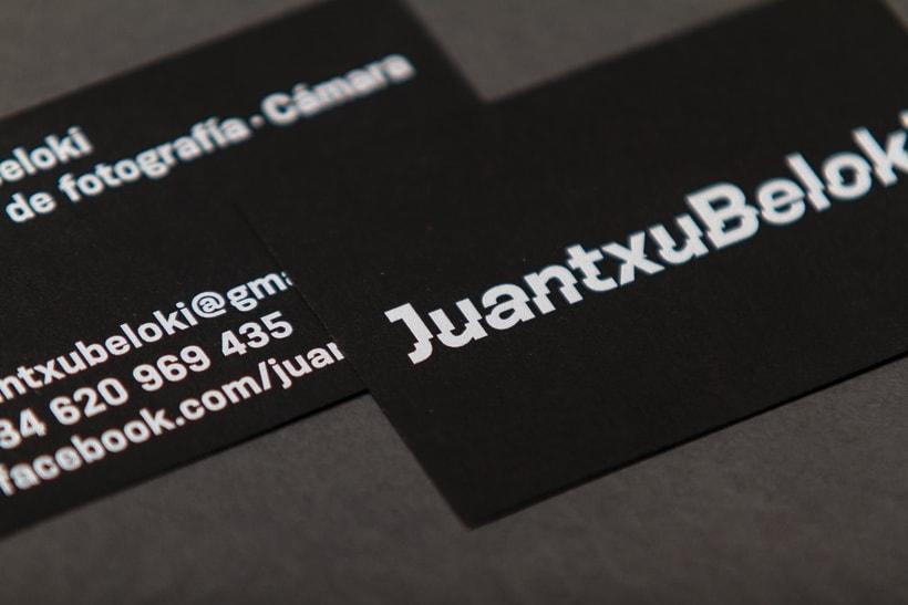 Juantxu Beloki visual identity 5