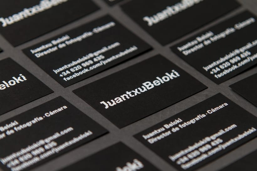 Juantxu Beloki visual identity 7