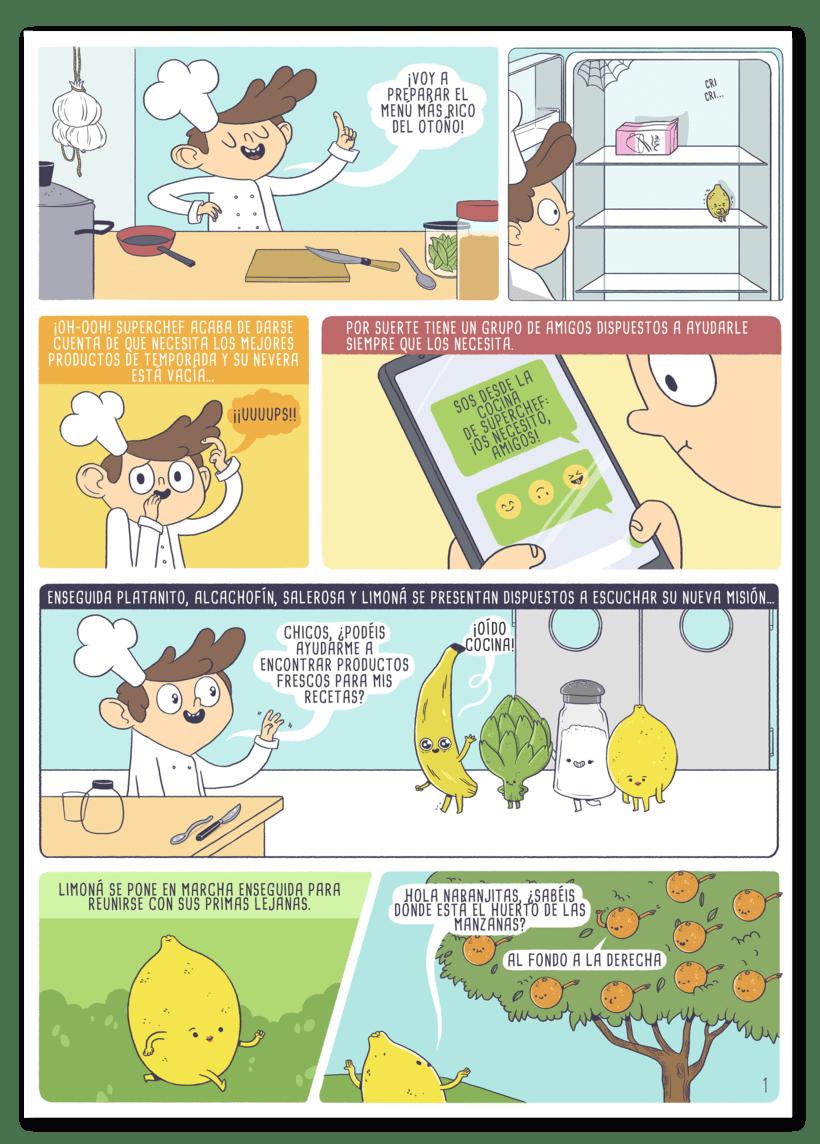 Ilustraciones para cómic 3