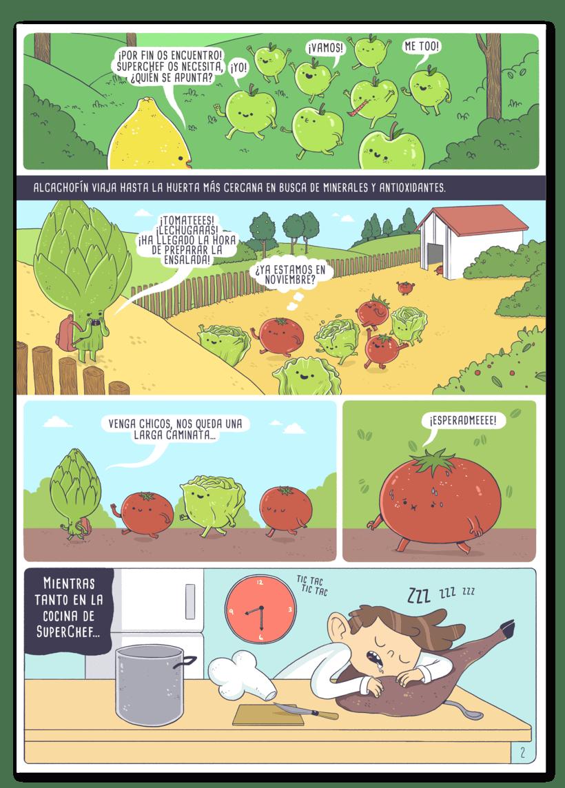 Ilustraciones para cómic 4