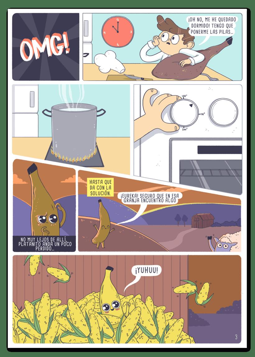 Ilustraciones para cómic 5