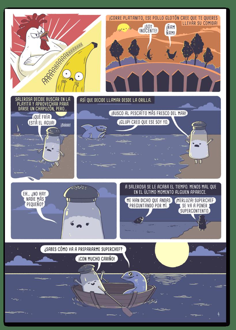 Ilustraciones para cómic 6
