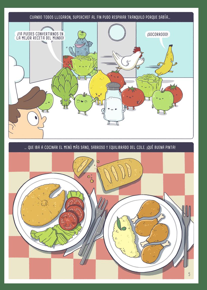 Ilustraciones para cómic 7