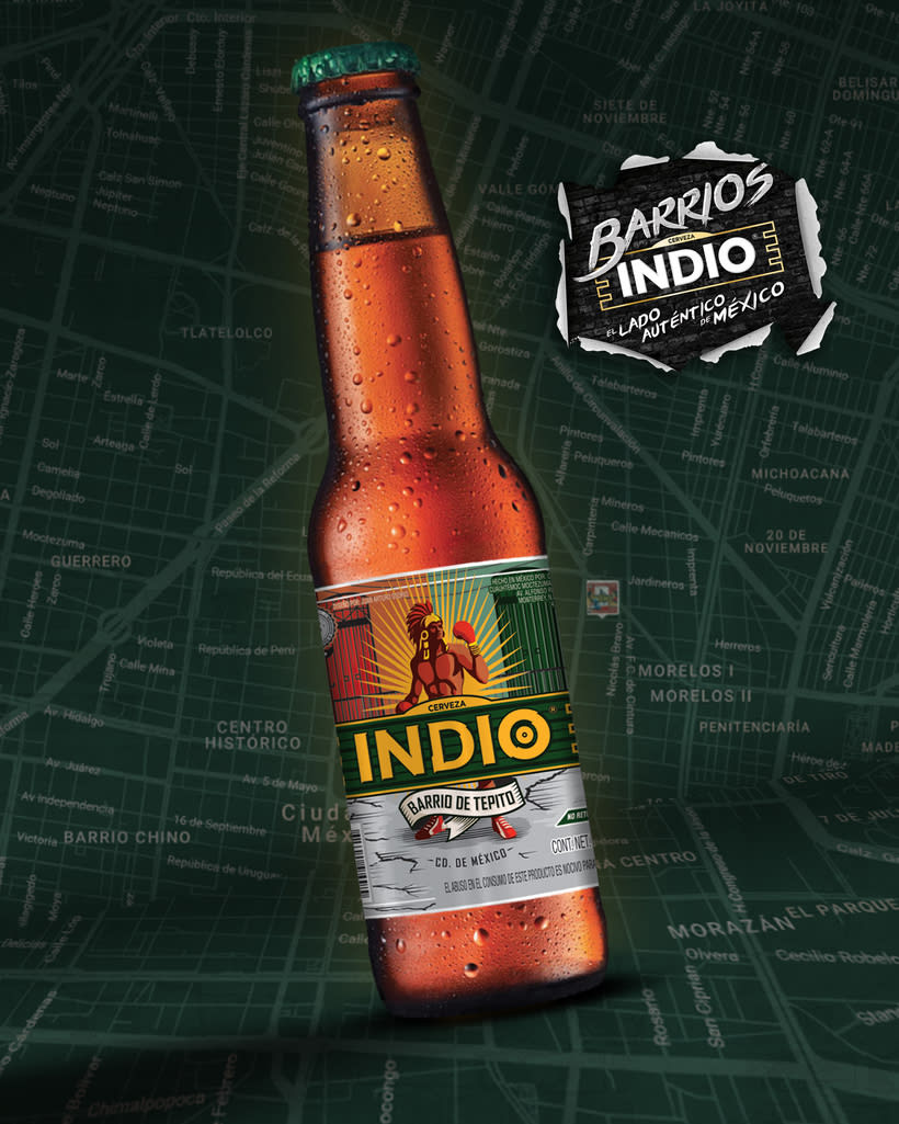 Etiqueta Indio Barrios - Tepito 5