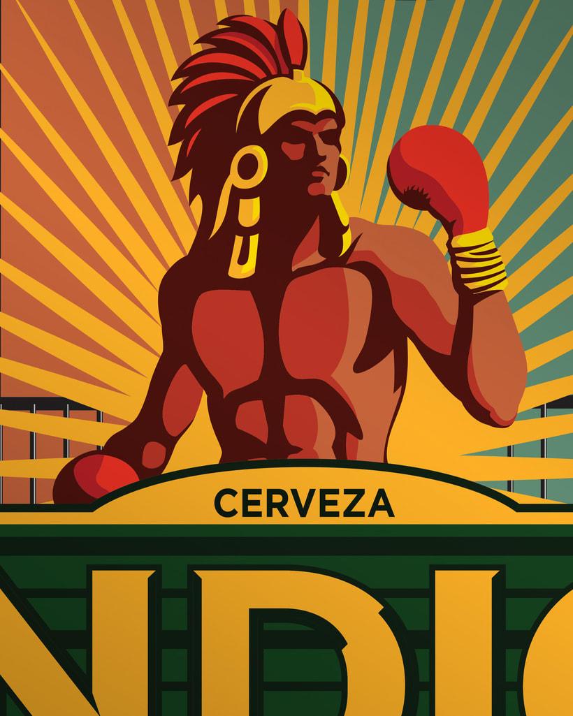 Etiqueta Indio Barrios - Tepito 1