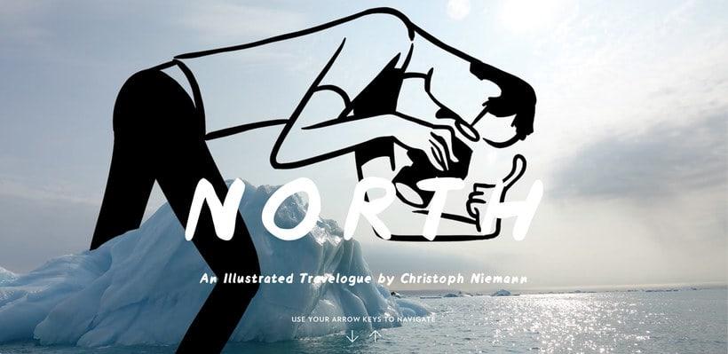 Christoph Niemann ilustra su viaje al Ártico Noruego 1