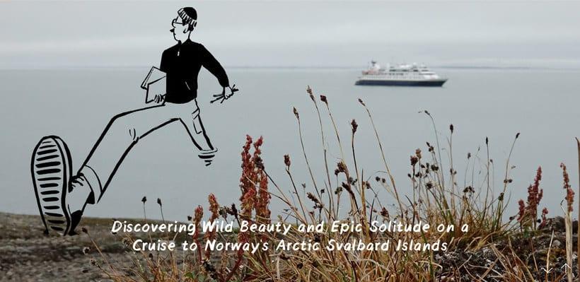 Christoph Niemann ilustra su viaje al Ártico Noruego 3