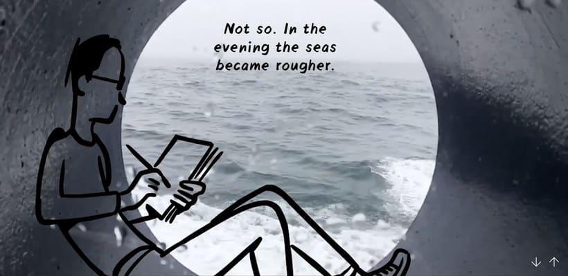 Christoph Niemann ilustra su viaje al Ártico Noruego 8