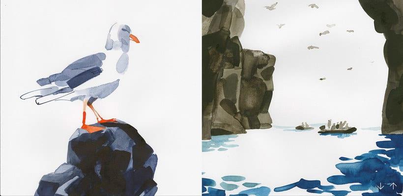 Christoph Niemann ilustra su viaje al Ártico Noruego 9