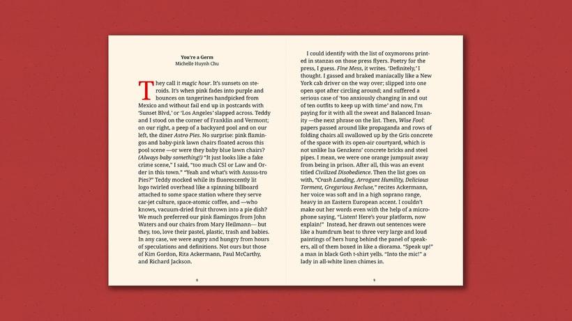 Fiction Nonfiction —Notebook 3