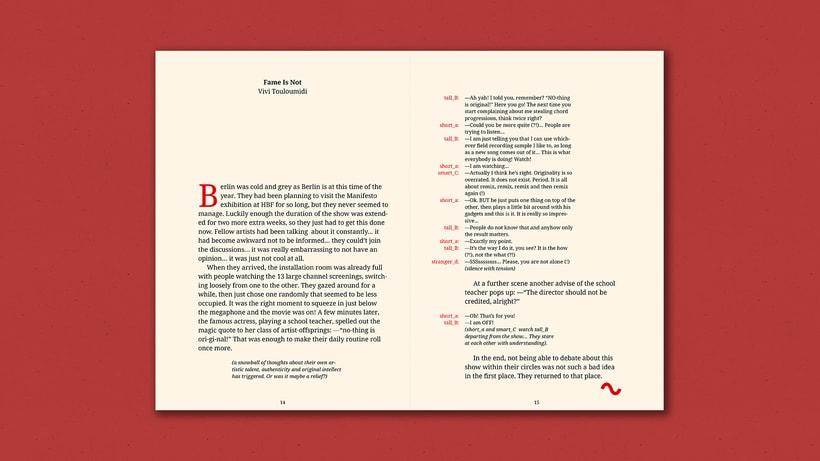 Fiction Nonfiction —Notebook 5