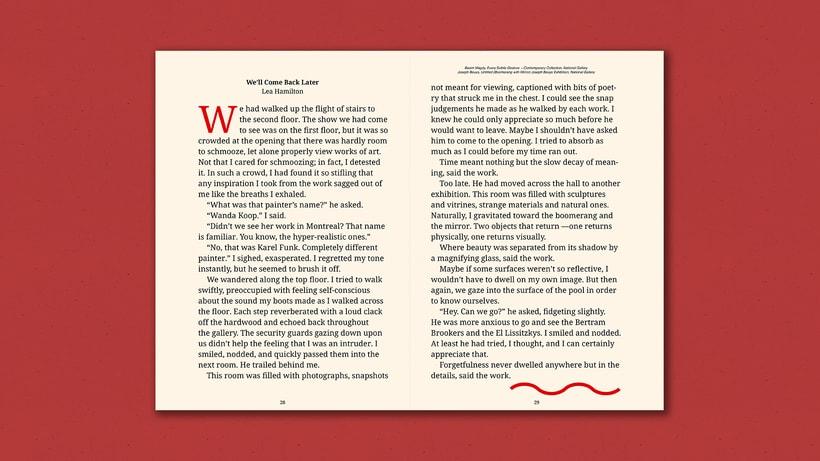 Fiction Nonfiction —Notebook 7