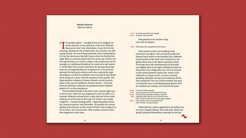Fiction Nonfiction —Notebook 10
