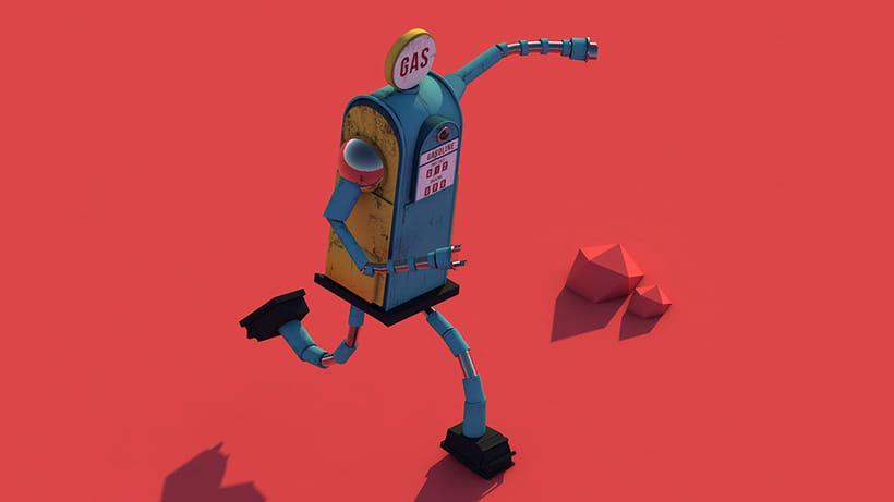 GAS: Diseño de personajes y Animación 3D 2