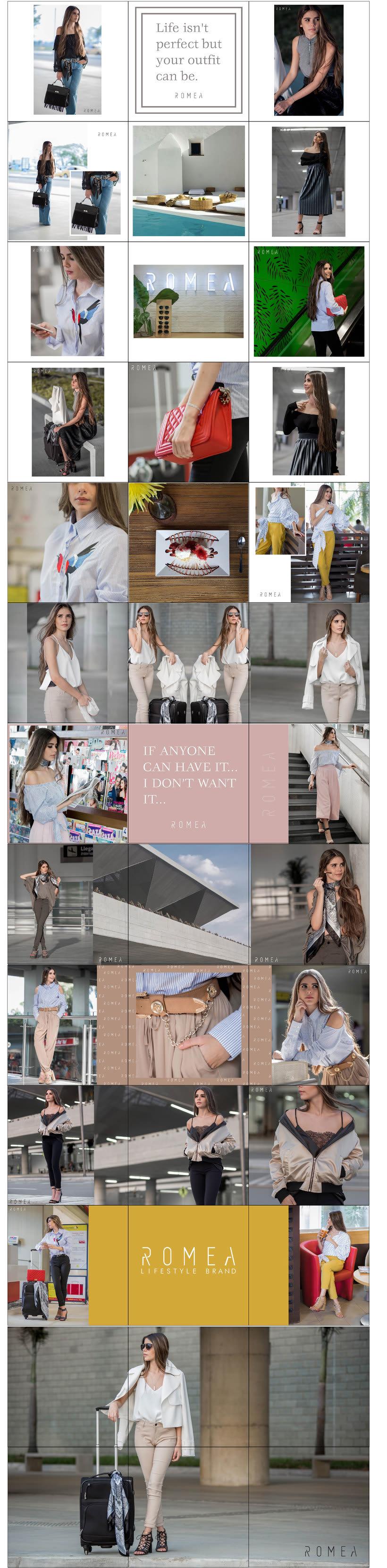 Mi proyecto del curso: Fotografía para redes sociales de la marca ROMEA -1