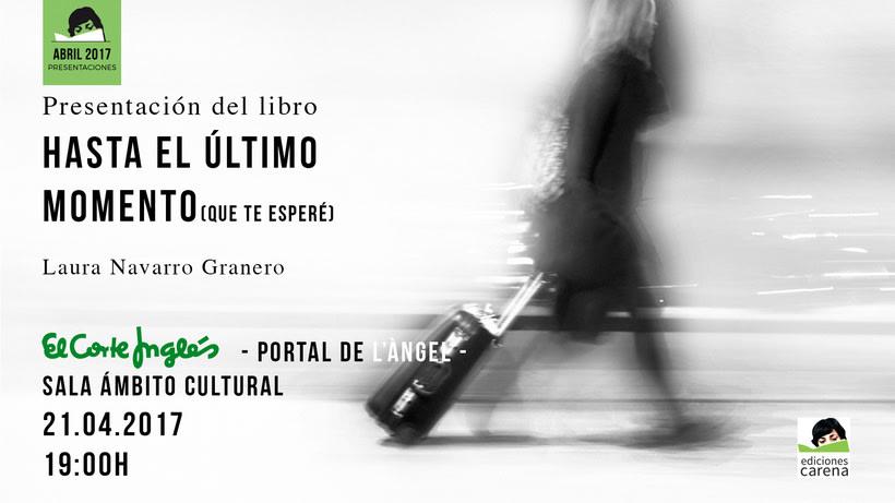 """Publicación del libro """"Hasta el último momento"""" -1"""