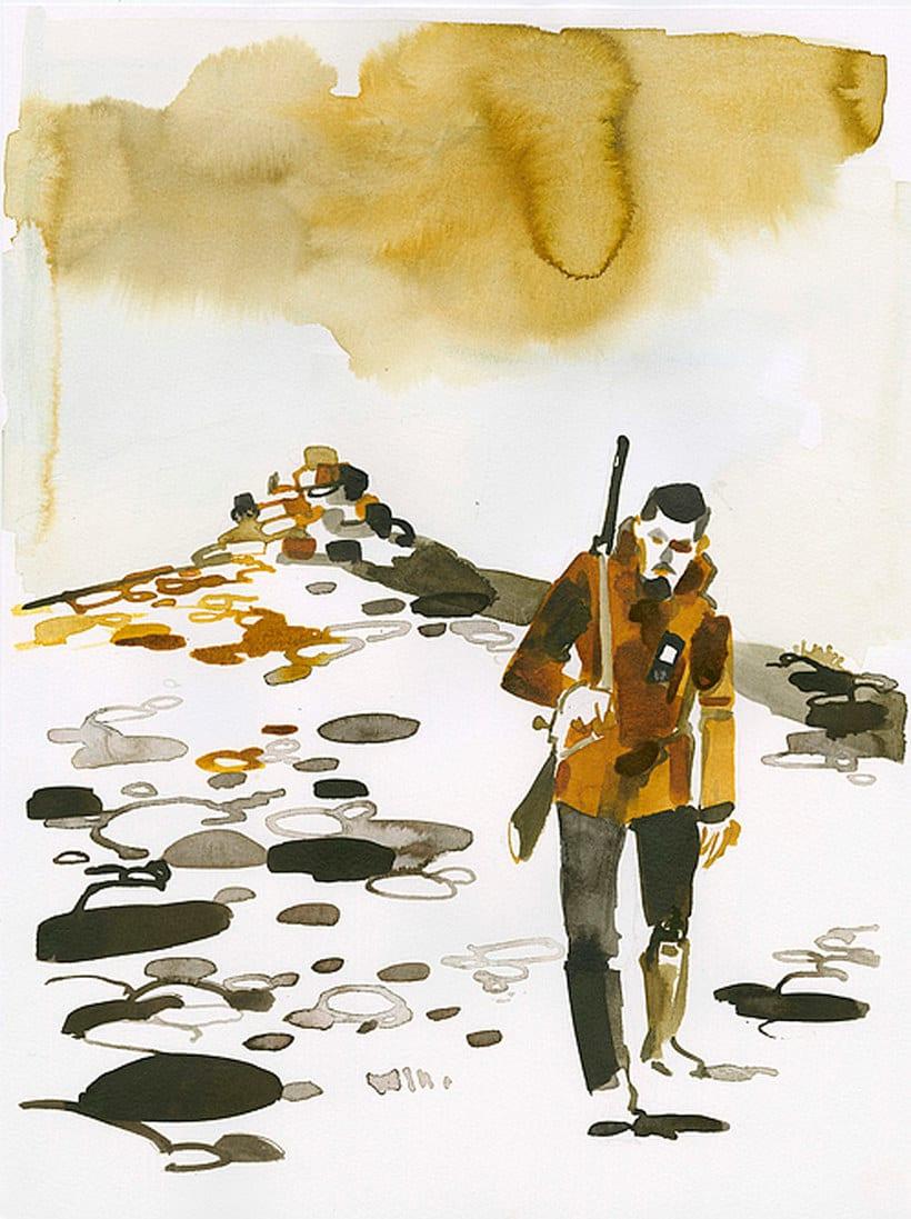 Christoph Niemann ilustra su viaje al Ártico Noruego 7