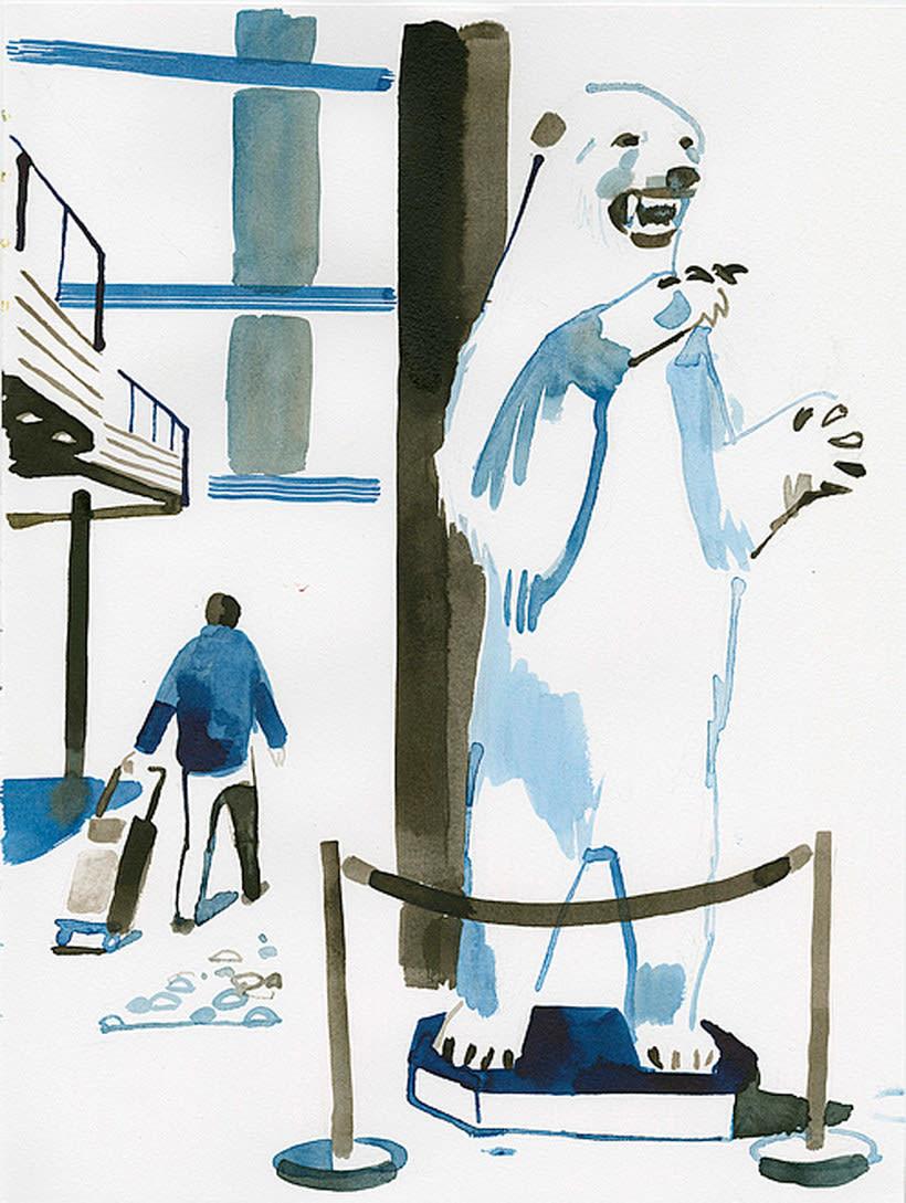 Christoph Niemann ilustra su viaje al Ártico Noruego 11