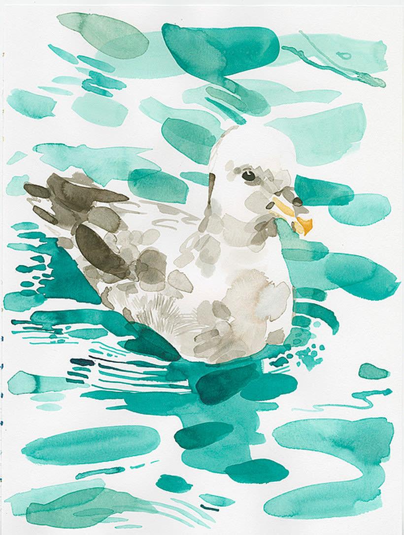 Christoph Niemann ilustra su viaje al Ártico Noruego 16
