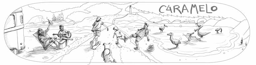 Ilustraciones para Homies -1
