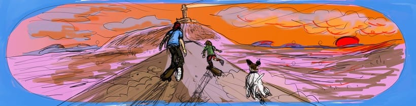 Ilustraciones para Homies 1