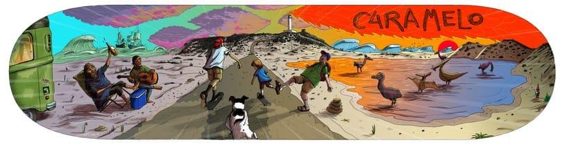 Ilustraciones para Homies 2