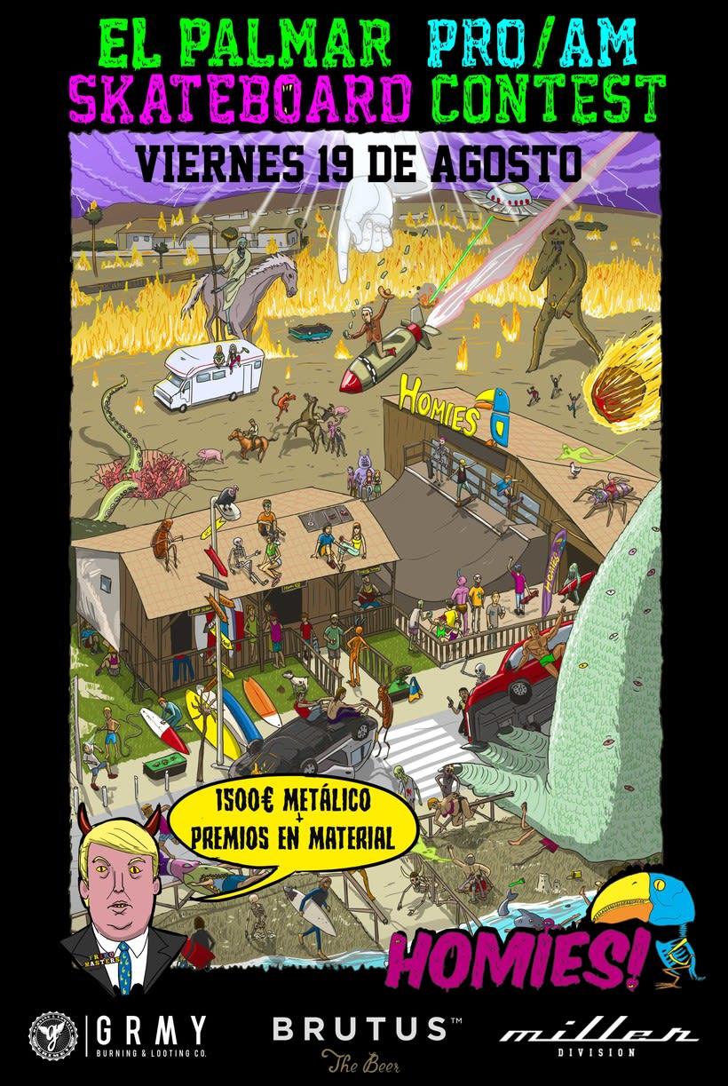 Ilustraciones para Homies 4