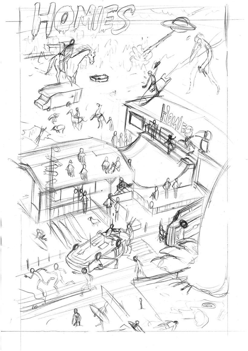 Ilustraciones para Homies 5