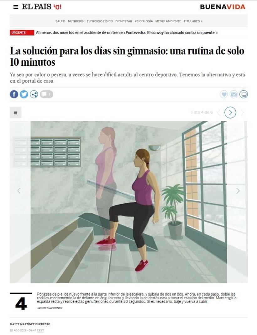 """Ilustraciones para """"El País"""" -1"""