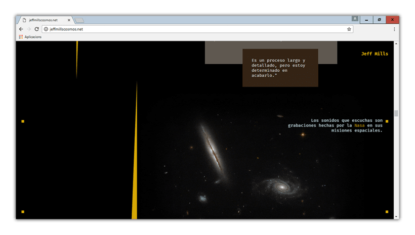 JEFF MILLS: DISSENY WEB 1