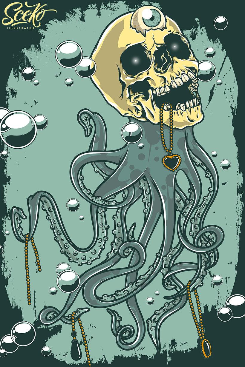 """Octopus eye"" 6"