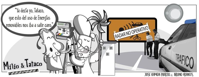 Milio&Tataco ( tiras cómicas periódicos ) 1