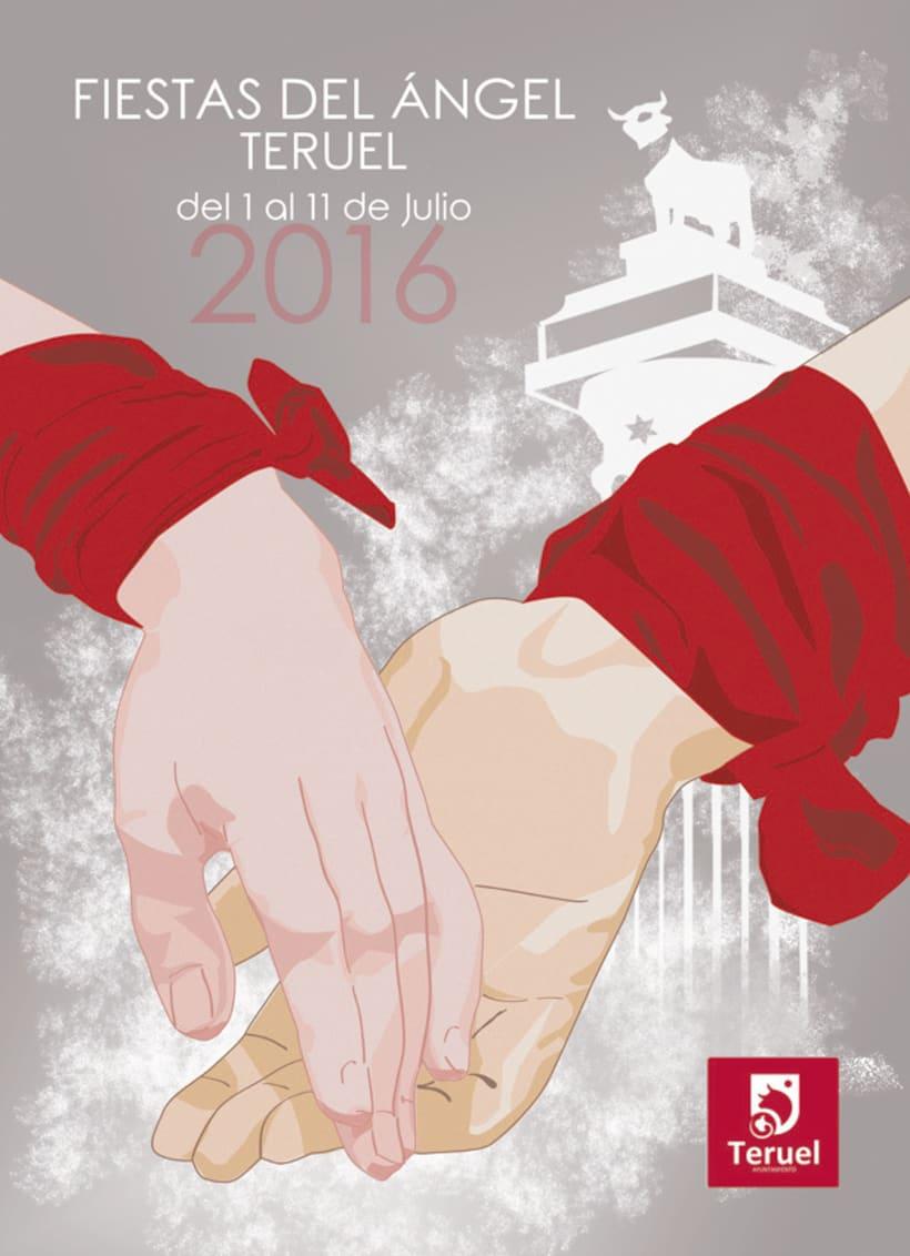 Cartel fiestas de Teruel 2016 0