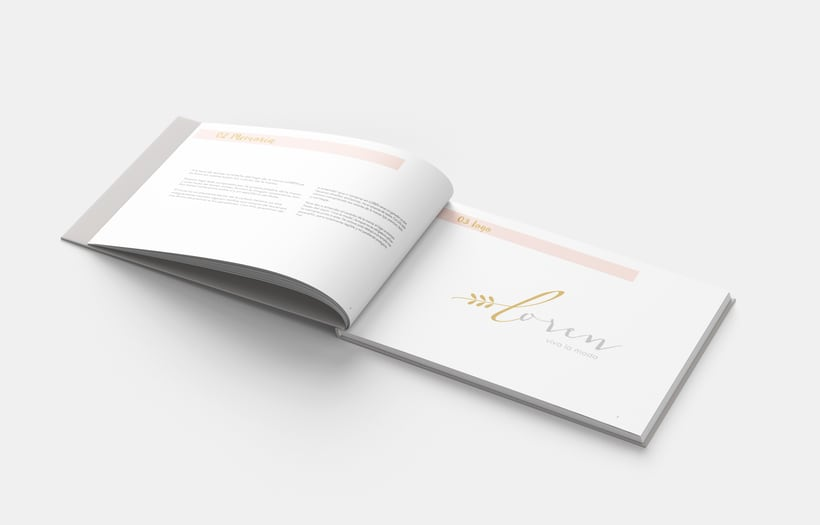 Manual Corporativo de Loren (marca ficticia) 2