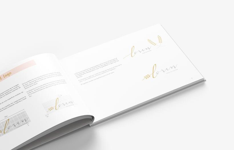 Manual Corporativo de Loren (marca ficticia) 3