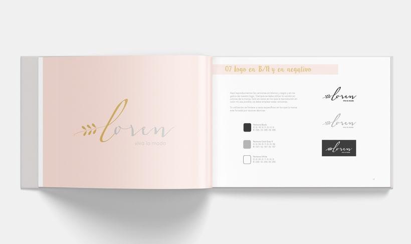 Manual Corporativo de Loren (marca ficticia) 7