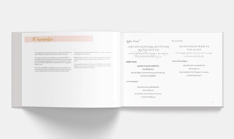 Manual Corporativo de Loren (marca ficticia) 10