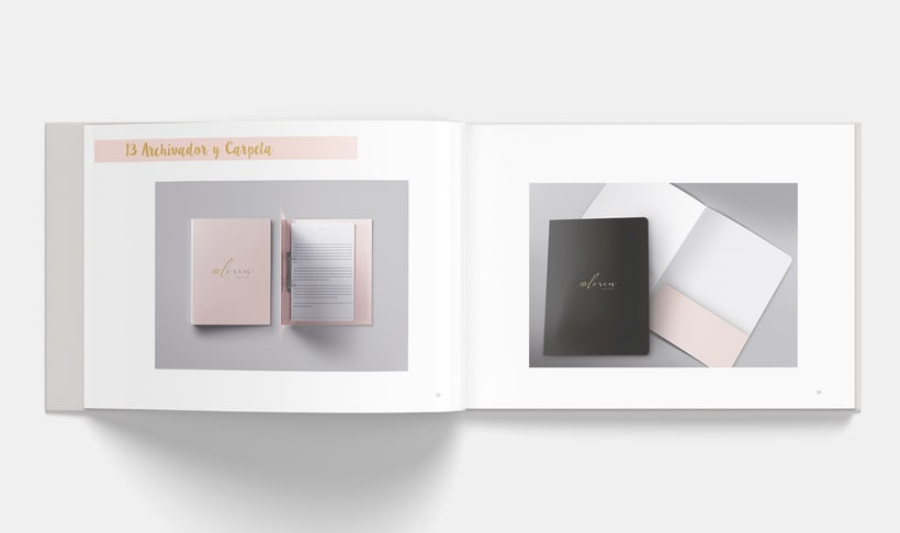 Manual Corporativo de Loren (marca ficticia) 13